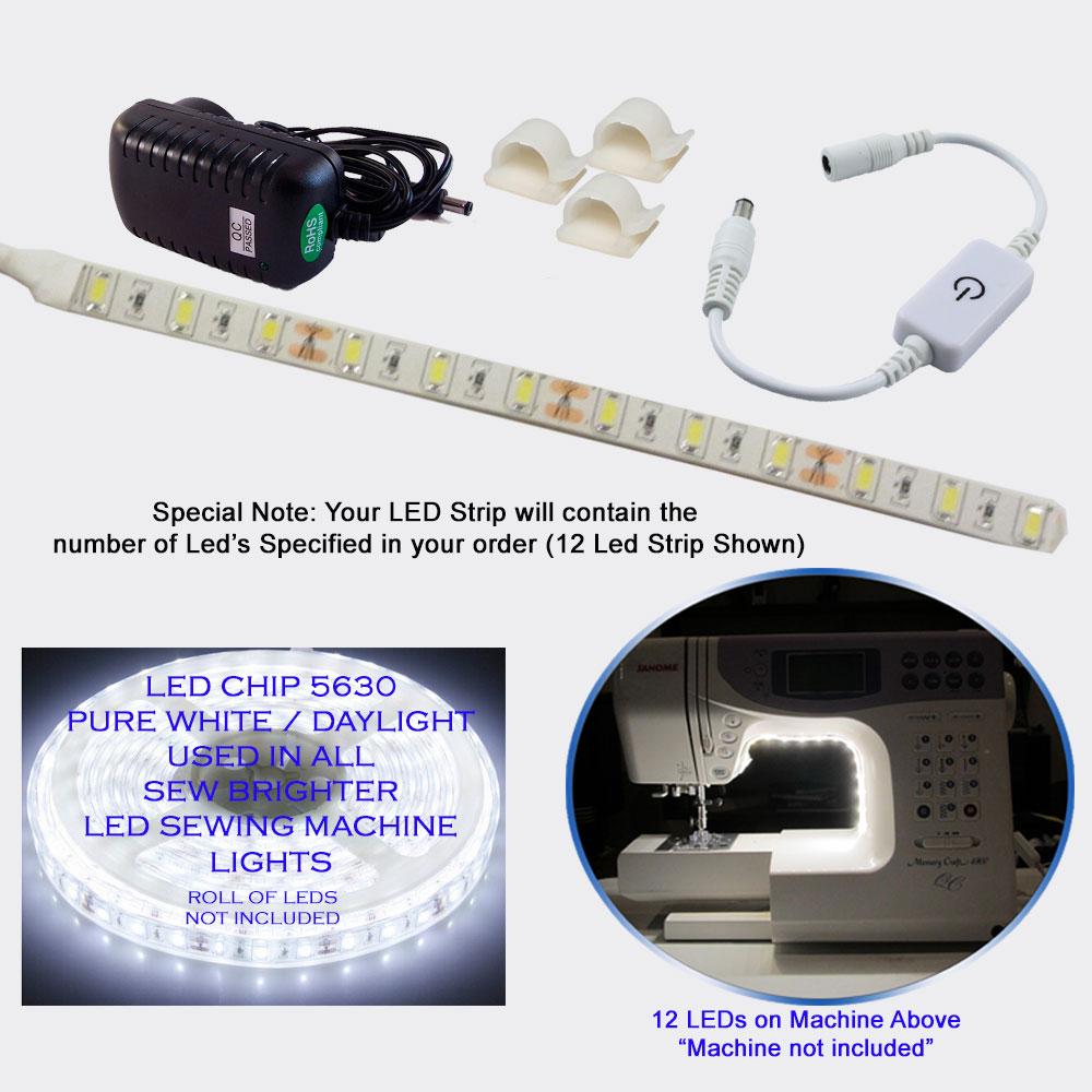 Dark Be Gone Wrap 21 LEDs Long Arm Kit