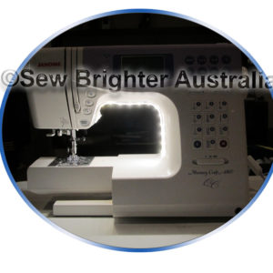 Wrap Mount Led Sewing Machine Light by Sew Brighter Australia
