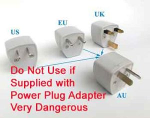 Australian Plug Adapter Dangerous Led Sewing Machine Lights 101